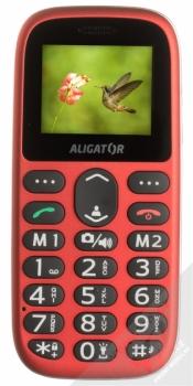 ALIGATOR A510 SENIOR červená (red) zepředu