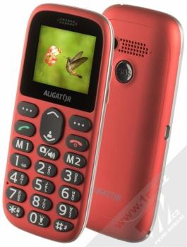 Aligator A510 Senior + POUZDRO GOLLA v ceně 199Kč ZDARMA červená (red)