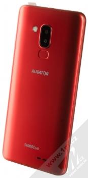 Aligator S6000 Senior červená (red) šikmo zezadu