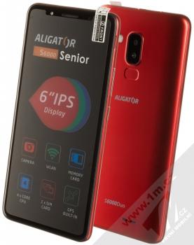 Aligator S6000 Senior červená (red)