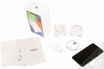 APPLE iPHONE X 64GB stříbrná (silver) balení
