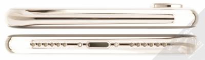 APPLE iPHONE X 64GB stříbrná (silver) seshora a zezdola