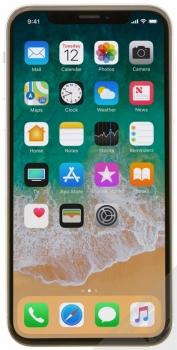 APPLE iPHONE X 64GB stříbrná (silver) zepředu