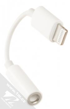 Apple MMX62ZM/A originální adaptér z Lightning na Jack 3,5mm bílá (white) konektory