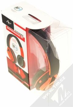 ART AP-B04-C Bluetooth Stereo headset černá oranžová (black orange) krabička