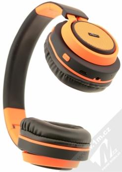 ART AP-B04-C Bluetooth Stereo headset černá oranžová (black orange) zezdola