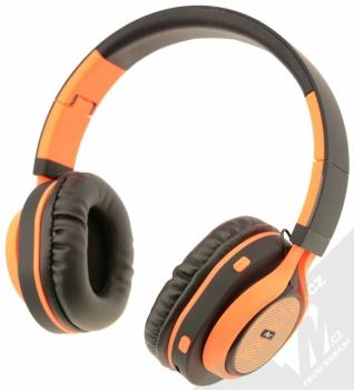 ART AP-B04-C Bluetooth Stereo headset černá oranžová (black orange)