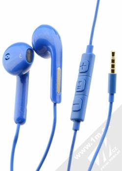 Blue Star Android Headset sluchátka s mikrofonem a ovladačem modrá (blue)