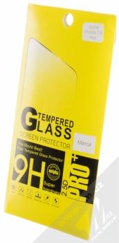 Blue Star Mirror Tempered Glass ochranné tvrzené sklo na displej se zrcadlovým efektem pro Apple iPhone 7 Plus, iPhone 8 Plus krabička