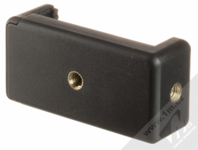 Celly Click Tripod miniaturní univerzální stativ černá (black) detail vaničky zezadu