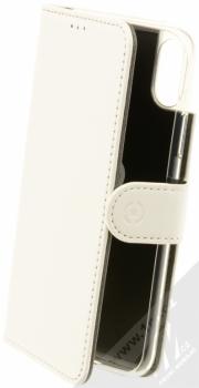 Celly Wally flipové pouzdro pro Apple iPhone X, iPhone XS bílá (white)