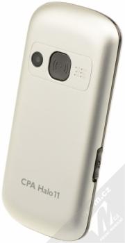 CPA HALO 11 stříbrná (silver) šikmo zezadu