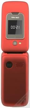 CPA HALO 15 červená (red) otevřené zezadu