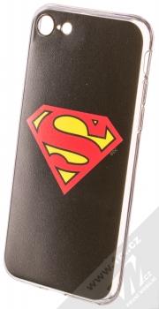 DC Comics Superman 002 TPU ochranný silikonový kryt s motivem pro Apple iPhone 7, iPhone 8 černá (black)