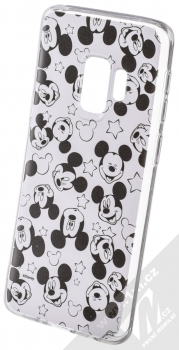 Disney Mickey Mouse 007 TPU ochranný silikonový kryt s motivem pro Samsung Galaxy S9 bílá (white)