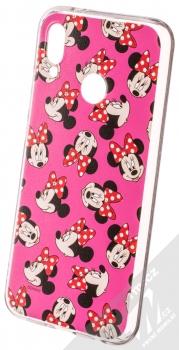 Disney Minnie Mouse 019 TPU ochranný silikonový kryt s motivem pro Huawei P20 Lite růžová (pink)