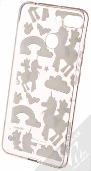 Disney Minnie Mouse a Jednorožec 037 TPU ochranný silikonový kryt s motivem pro Xiaomi Redmi 6 průhledná (transparent) zepředu