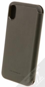 Ferrari Off Track flipové pouzdro pro Apple iPhone X (FEHDEFLBKPXBK) černá (black) zezadu