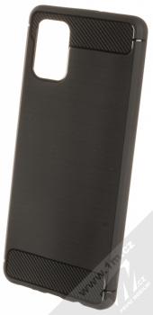 Forcell Carbon ochranný kryt pro Samsung Galaxy A71 černá (black)