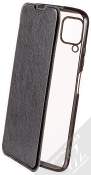 Forcell Electro Book flipové pouzdro pro Huawei P40 Lite černá (black)