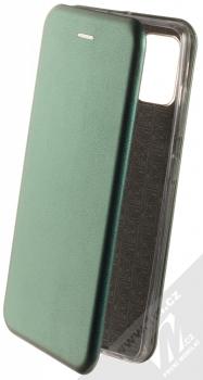 Forcell Elegance Book flipové pouzdro pro Samsung Galaxy A51 tmavě zelená (dark green)