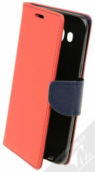 Forcell Fancy Book flipové pouzdro pro Samsung Galaxy J5 (2016) červeno modrá (red blue)