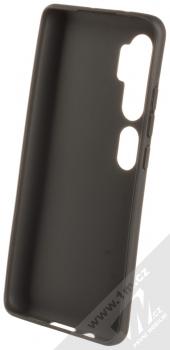 Forcell Jelly Matt Case TPU ochranný silikonový kryt pro Xiaomi Mi Note 10, Mi Note 10 Pro černá (black) zepředu