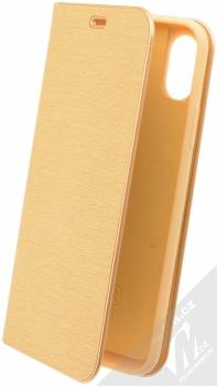 Forcell Luna flipové pouzdro pro Apple iPhone X zlatá (gold)