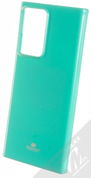 Goospery Jelly Case TPU ochranný kryt pro Samsung Galaxy Note 20 Ultra mátově zelená (mint green)