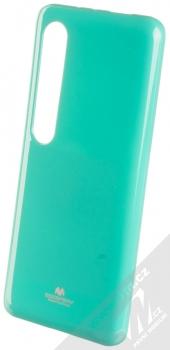 Goospery Jelly Case TPU ochranný silikonový kryt pro Xiaomi Mi 10, Mi 10 Pro mátově zelená (mint green)