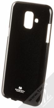 Goospery Jelly Case TPU ochranný silikonový kryt pro Samsung Galaxy A6 (2018) černá (black)