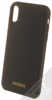 Guess Silicone Logo ochranný kryt pro Apple iPhone XR (GUHCI61LSGLBK) černá (black)