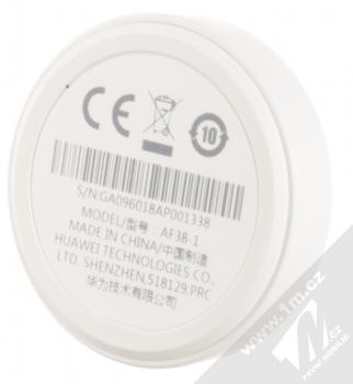 Huawei AF38-1 Watch GT Charger originální dokovací stanice pro Huawei Watch GT bílá (white) zezadu