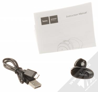 Hoco E46 Wireless Bluetooth headset černá (black) balení