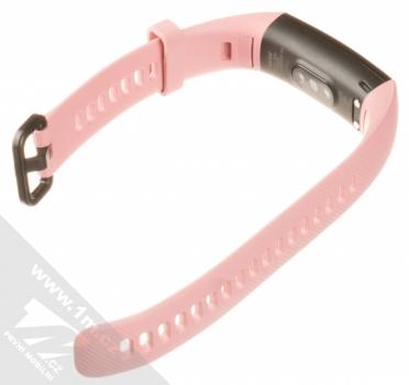 Honor Band 4 Crius chytrý fitness náramek se senzorem srdečního tepu růžová (coral pink) rozepnuté zezadu