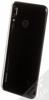 HUAWEI NOVA 3 černá (black) šikmo zezadu