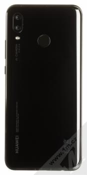 HUAWEI NOVA 3 černá (black) zezadu
