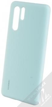 Huawei Silicone Case originální ochranný kryt pro Huawei P30 Pro světle modrá (light blue)
