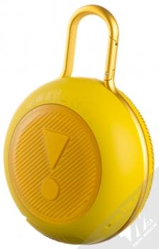JBL CLIP 3 voděodolný Bluetooth reproduktor žlutá (yellow) zezadu