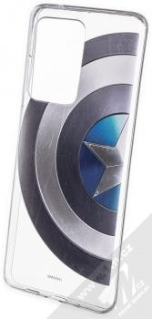 Marvel Kapitán Amerika 006 TPU ochranný kryt pro Samsung Galaxy S20 Ultra průhledná (transparent)
