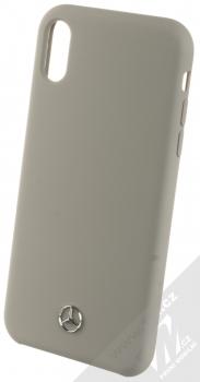 Mercedes Silicone ochranný kryt pro Apple iPhone XR (MEHCI61SILGR) šedá (grey)