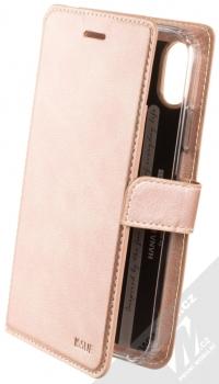 Molan Cano Issue Diary flipové pouzdro pro Apple iPhone XR růžově zlatá (rose gold)