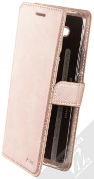 Molan Cano Issue Diary flipové pouzdro pro Huawei Mate 20 Lite růžově zlatá (rose gold)