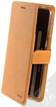 Molan Cano Issue Diary flipové pouzdro pro Samsung Galaxy J6 Plus (2018) hnědá (brown)