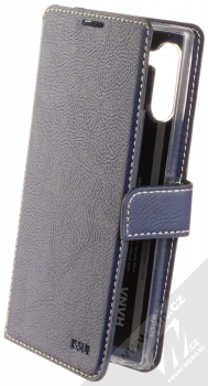 Molan Cano Issue Diary flipové pouzdro pro Samsung Galaxy Note 10 tmavě modrá (navy blue)