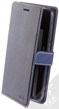 Molan Cano Issue Diary flipové pouzdro pro Xiaomi Pocophone F1 tmavě modrá (navy blue)