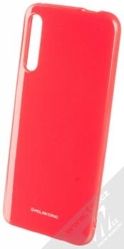 Molan Cano Jelly Case TPU ochranný kryt pro Huawei P Smart Pro sytě růžová (hot pink)