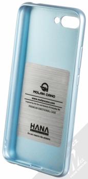 Molan Cano Jelly Case TPU ochranný kryt pro Honor 10 blankytně modrá (sky blue) zepředu