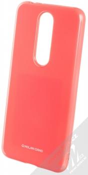 Molan Cano Jelly Case TPU ochranný kryt pro Nokia 5.1 Plus sytě růžová (hot pink)