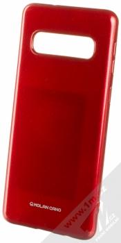 Molan Cano Jelly Case TPU ochranný kryt pro Samsung Galaxy S10 červená (red)